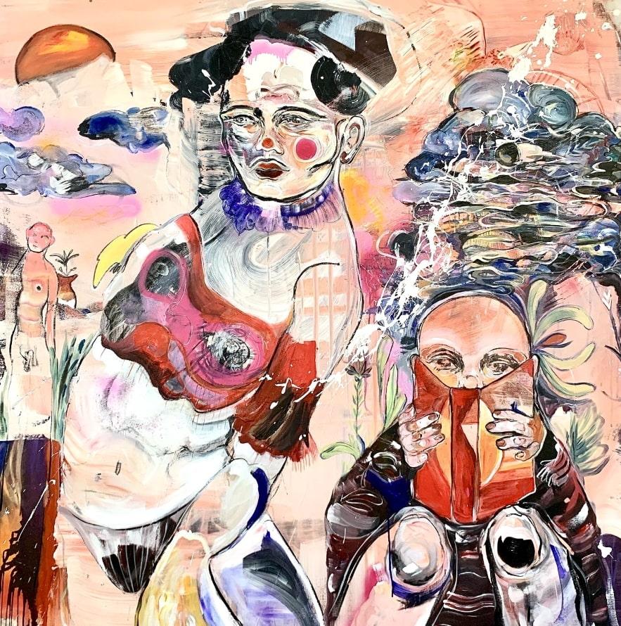 ART at Berlin - Courtesy of GalleryNo 10 - Feryel Atek - October Moon