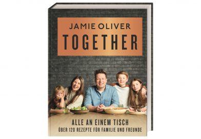 """3 x 1 Jamie Oliver-Kochbuch """"Together – Alle an einem Tisch"""""""